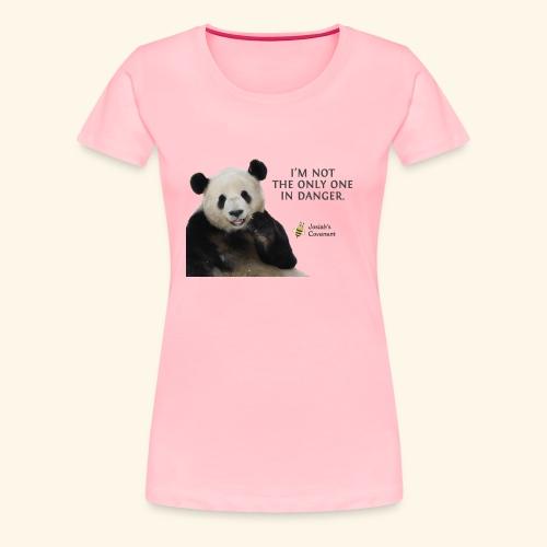 Endangered Pandas - Josiah's Covenant - Women's Premium T-Shirt