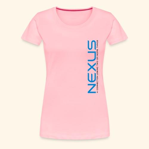 Nexus 90 - Women's Premium T-Shirt
