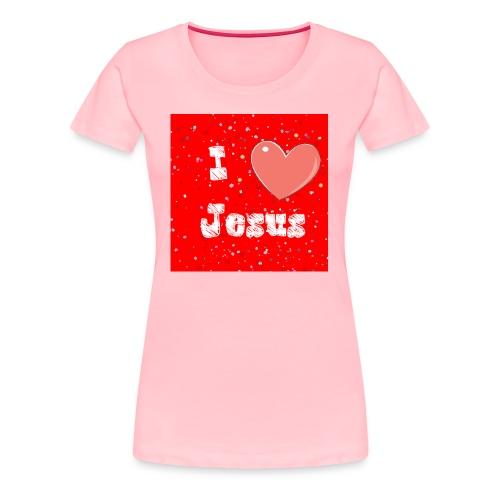 i heart jesus - Women's Premium T-Shirt