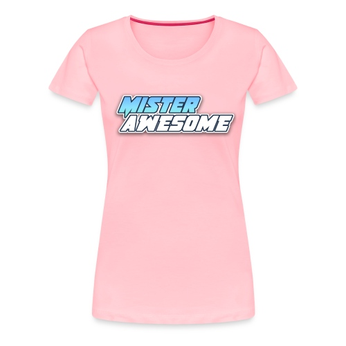 Mister Awesome logo - Women's Premium T-Shirt