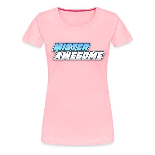Mister Awesome logo - Women's Premium T-Shirt