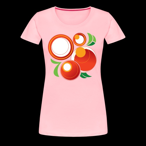 Abstract Oranges - Women's Premium T-Shirt
