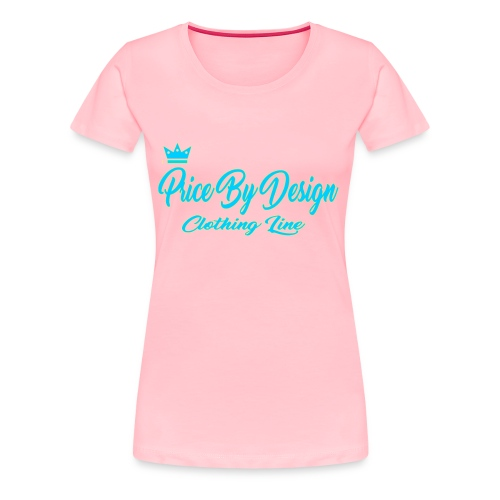 Price By Design Logo - Women's Premium T-Shirt