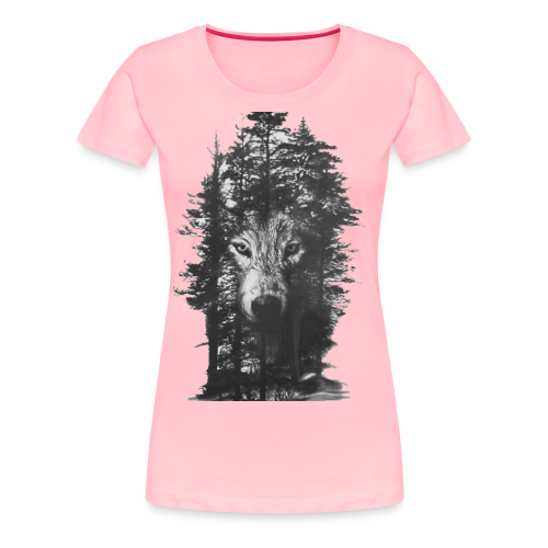 Wolf Forest - Women's Premium T-Shirt