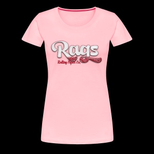 RAGSROLLINGLOGORED - Women's Premium T-Shirt