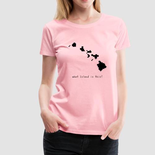 hawaiimap - Women's Premium T-Shirt