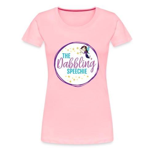 The Dabbling Speechie - Women's Premium T-Shirt