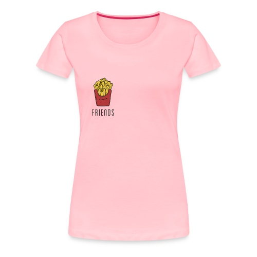 French fries best friends - Women's Premium T-Shirt