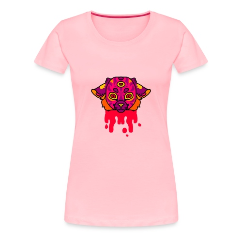 three eyes - Women's Premium T-Shirt