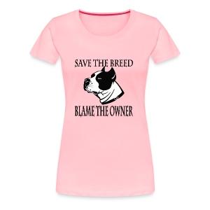breed - Women's Premium T-Shirt