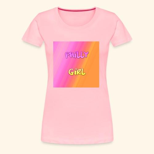 phillygirlhpastel - Women's Premium T-Shirt
