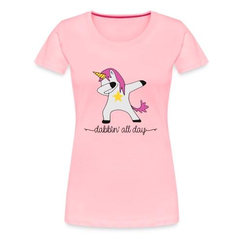dabbing unicorn - Women's Premium T-Shirt