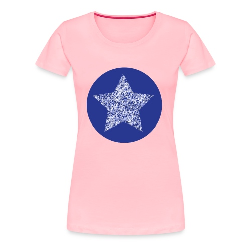 Sketchy star - Women's Premium T-Shirt