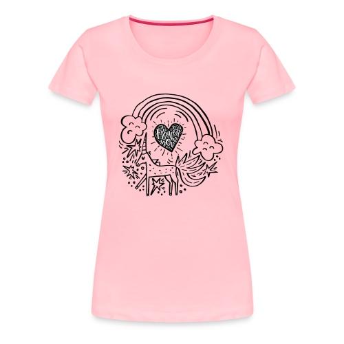 Licorneforeveryou - Women's Premium T-Shirt