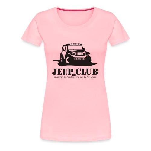 Jeep 4x4 CLub - Women's Premium T-Shirt