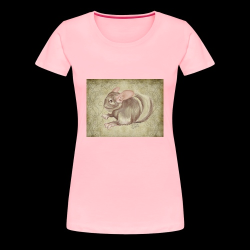 chinchilla TWITCH episode fin episode 5 - Women's Premium T-Shirt