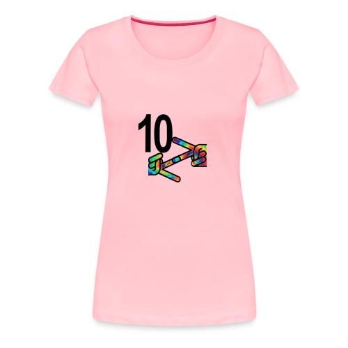 10z Tie Die - Women's Premium T-Shirt