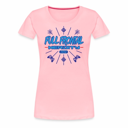 Full Frontal Nerdity Show Logo - Women's Premium T-Shirt