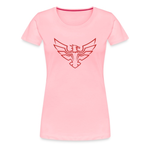 Kevin Be a Hawk [LIMTED] - Women's Premium T-Shirt