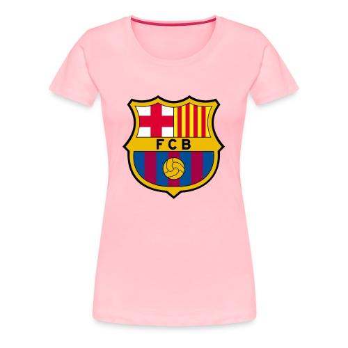 1010px FC Barcelona crest svg - Women's Premium T-Shirt