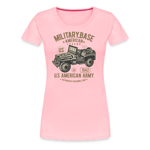 JEEP AMERICAN ARMY - Women's Premium T-Shirt