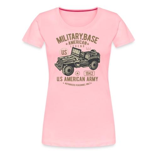 JEEP AMERICAN ARMY - Women's Premium T-Shirt