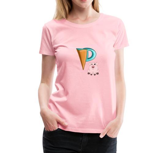 Phineapoo tee - Women's Premium T-Shirt