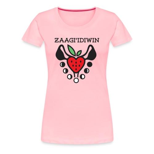 Zaagi idiwin Logo - Women's Premium T-Shirt
