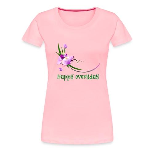 happy everyday - Women's Premium T-Shirt