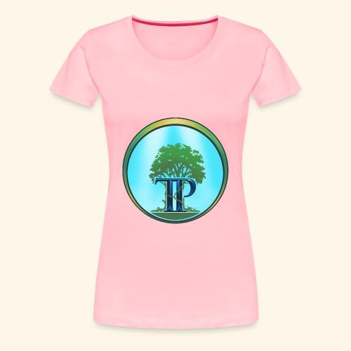 The Twin Powers Ring Logo - Women's Premium T-Shirt