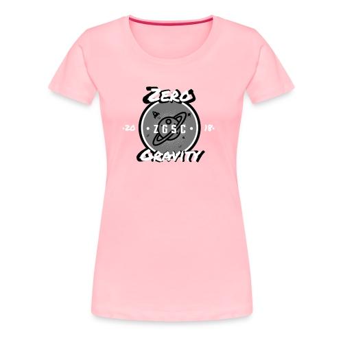 Zero Gravity simple logo - Women's Premium T-Shirt