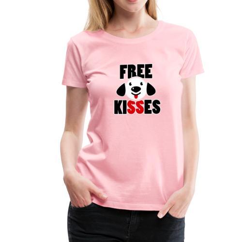 Free Kisses T Shirt - Women's Premium T-Shirt