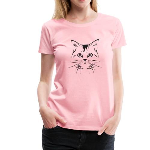 Women's Cat T-Shirt Kitty Shirt 2018 - Women's Premium T-Shirt