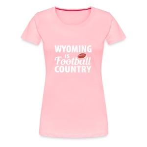 Wyoming Football - Women's Premium T-Shirt