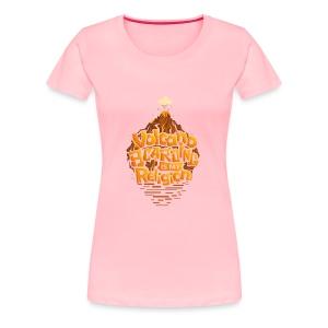 Volcano Boarding - Women's Premium T-Shirt