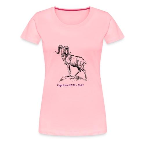 capricorn - Women's Premium T-Shirt