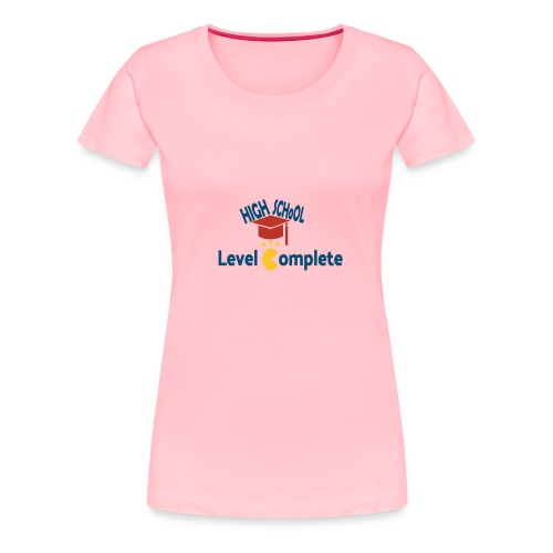 funny high school level complete - Women's Premium T-Shirt