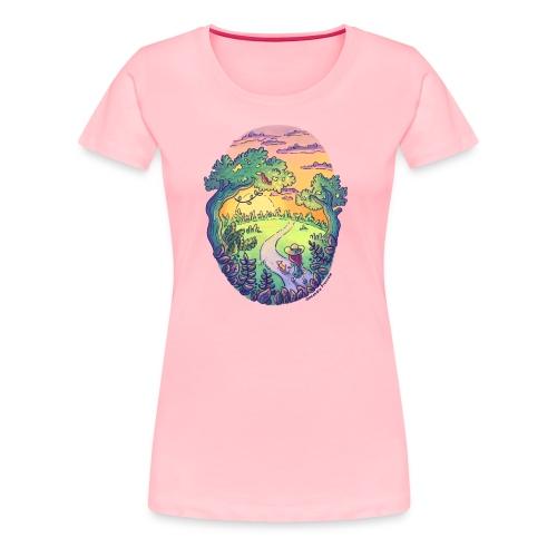 Rainbow Walk - Women's Premium T-Shirt