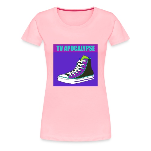 tvApocalypse Converse Shoe T-Shirt - Women's Premium T-Shirt