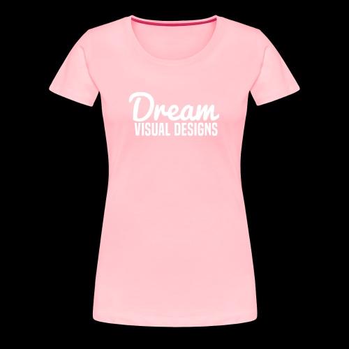 DreamVisualDesigns Logo (white) - Women's Premium T-Shirt