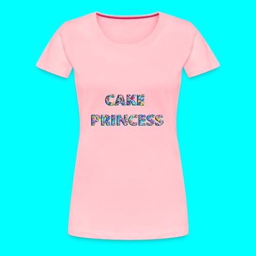 cake princess - Women's Premium T-Shirt