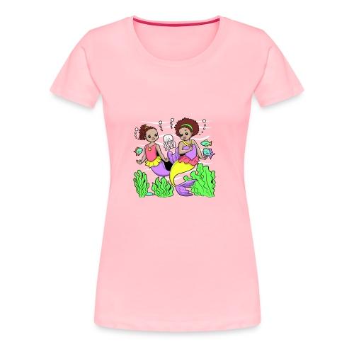 Mermaids - Women's Premium T-Shirt