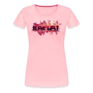Raplay Paint #VemPraRaplay - Women's Premium T-Shirt