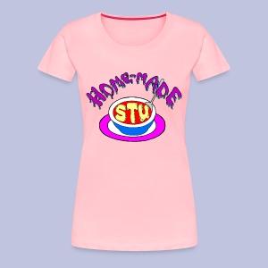 home made stu Logo - Women's Premium T-Shirt