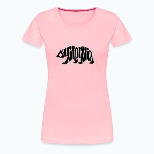 Cali Bear - Women's Premium T-Shirt