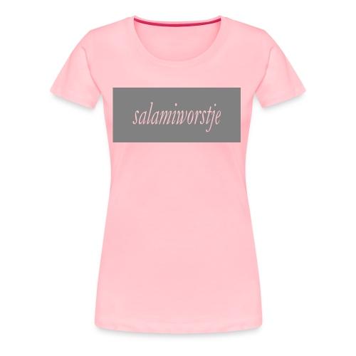 salamiworsje kleren - Women's Premium T-Shirt