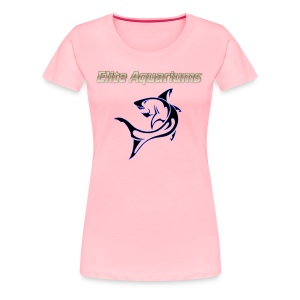 Elite Aquariums Shark - Women's Premium T-Shirt