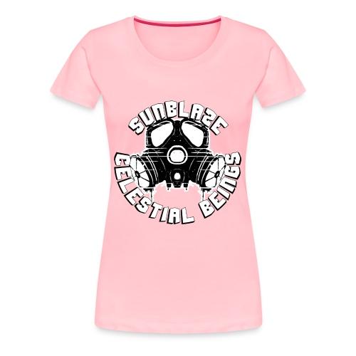 SUNBLAZE X WHITE CHOCOLATE LOGO T SHIRT - Women's Premium T-Shirt
