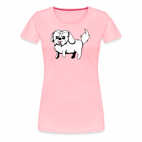 Shitzu Dog - Women's Premium T-Shirt