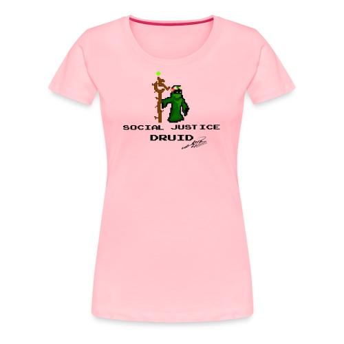 Social Justice Druid - Women's Premium T-Shirt